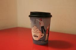 Drinking Christmas at Caffè Nero